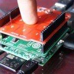 Python: Sensor touch MPR121