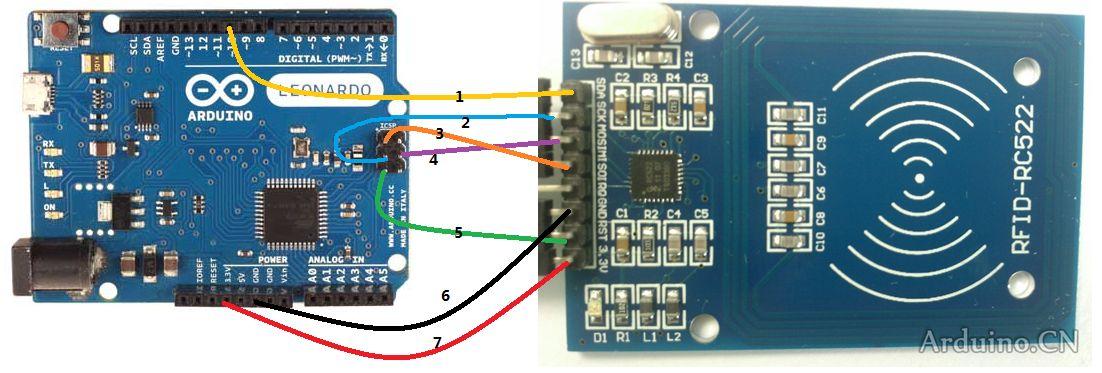 Módulo Lector RFID-RC522 RF con Arduino UNO R3 SPI