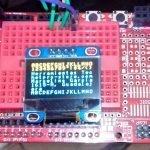 OLED SSD1316 por I2C con Arduino UNO R3