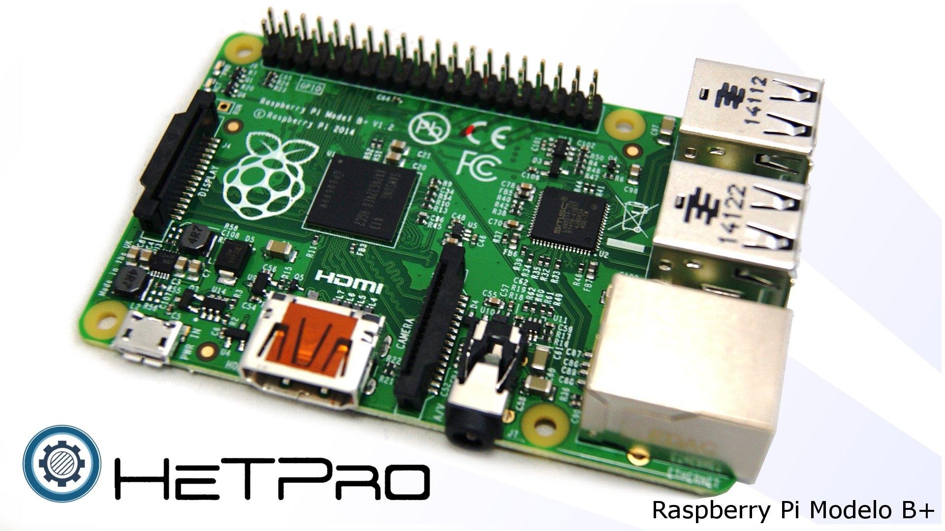 Raspberry Pi: Pasar sistema operativo SD de B a B+