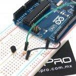 Transistor como interruptor con arduino UNO