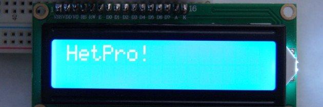 LCD 16×2 – JHD162ASTNGLED