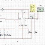 NE555 Oscilador de frecuencia con un circuito astable
