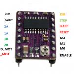 Controlador de motor a pasos DRV8825
