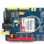 SIM900 GSM GPRS SHIELD CON ARDUINO UNO