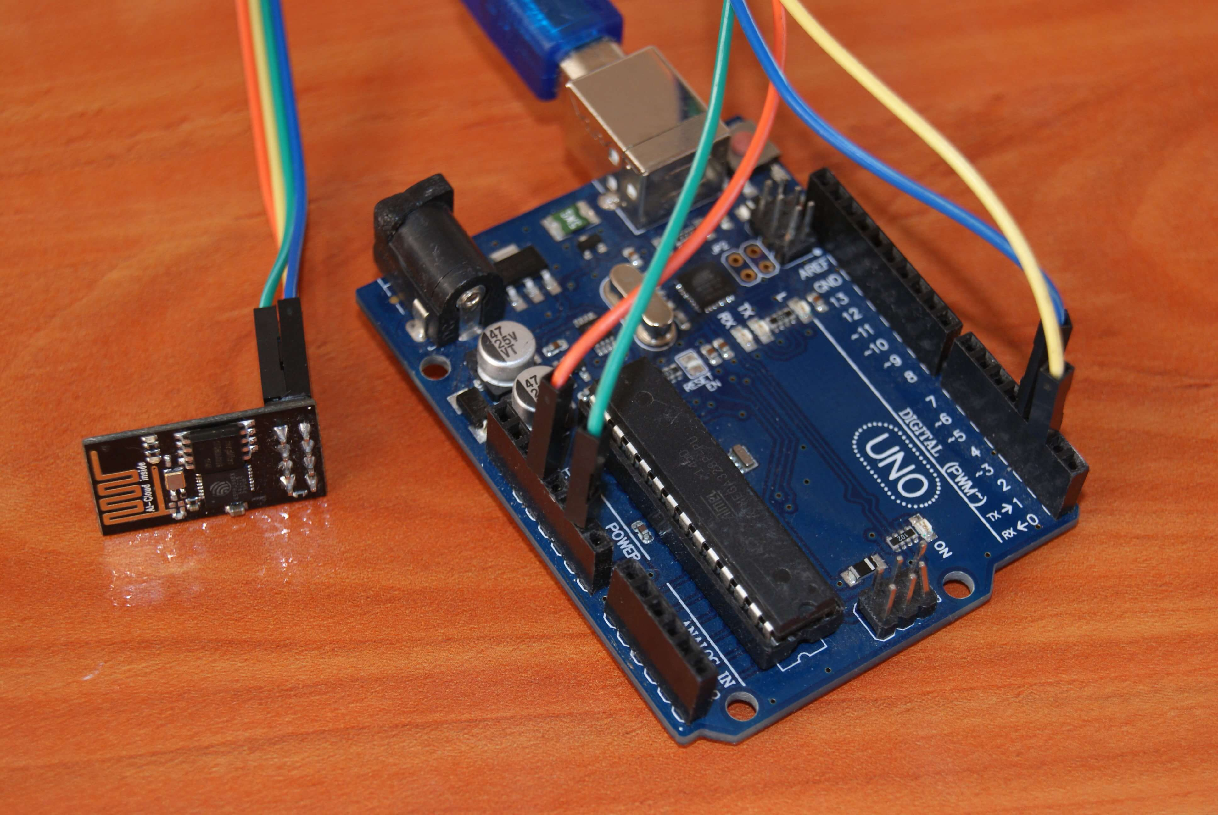 Servidor WEB con el ESP8266 y Arduino