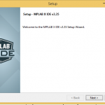 MPLAB X IDE Y Compilador CX8 instalación