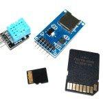 Datalogger con módulo lector microSD y sensor DHT11