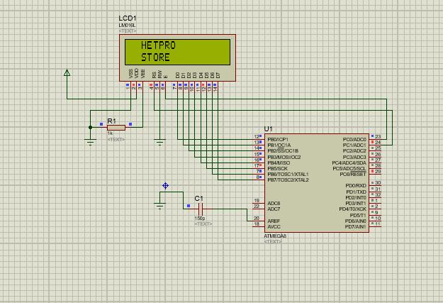 LCD hd44780-5