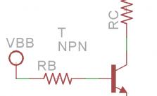 Transistor BJT corte y saturación en emisor común