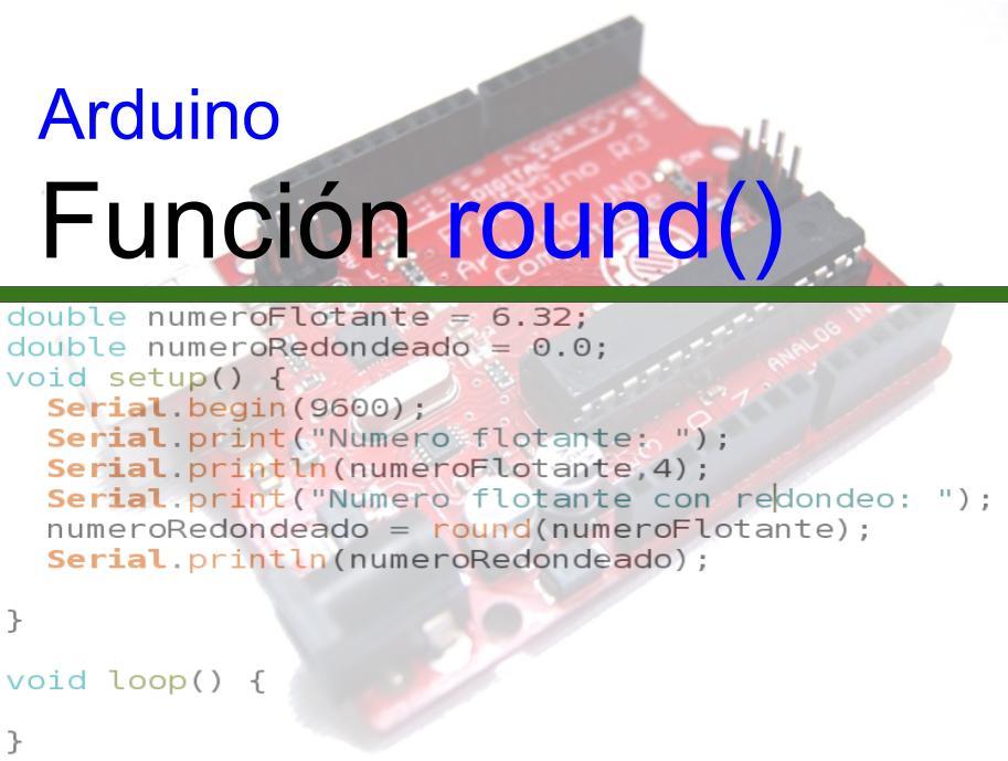 Arduino round