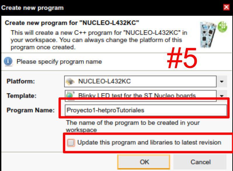 mbed compilador - paso 5