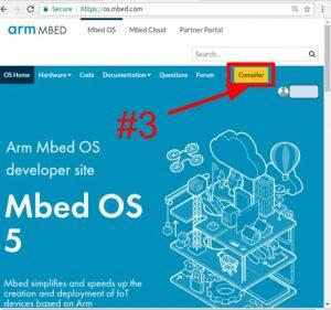Compilador mbed, paso 3