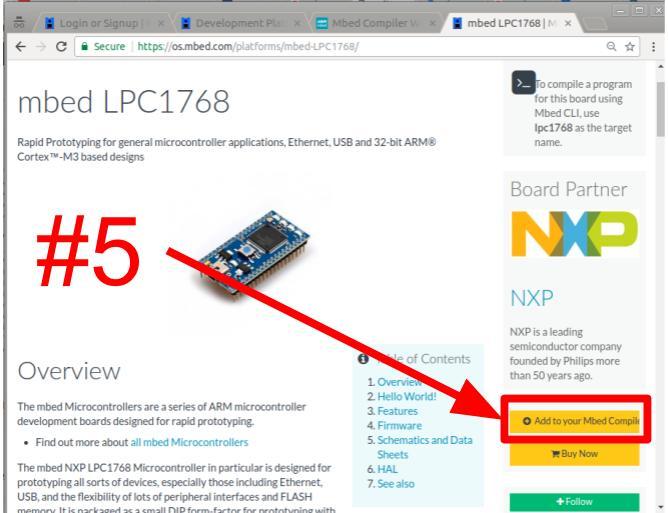 Mbed compilador paso 5