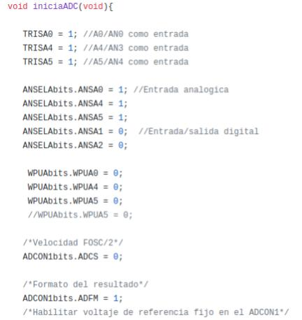 Microcontrolador ejemplo de programa