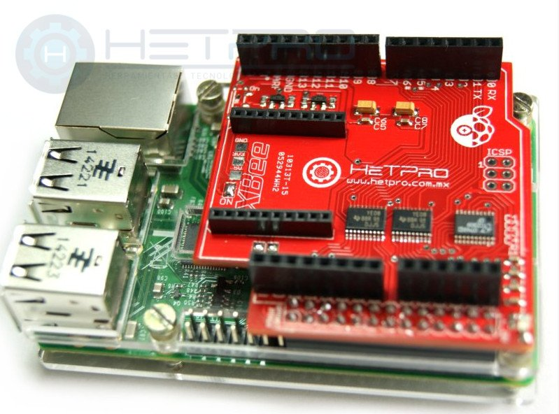 Arduino shield para raspberry pi