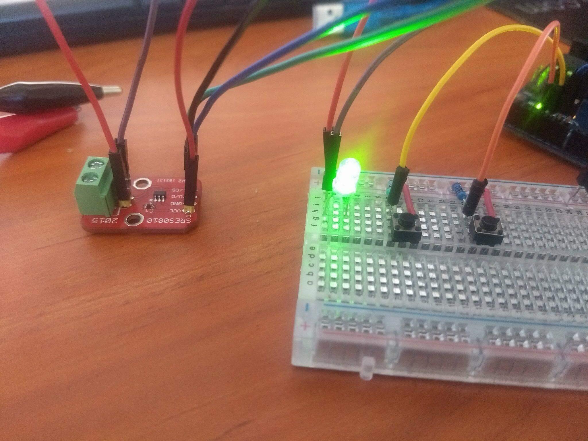 MCP4022 Arduino