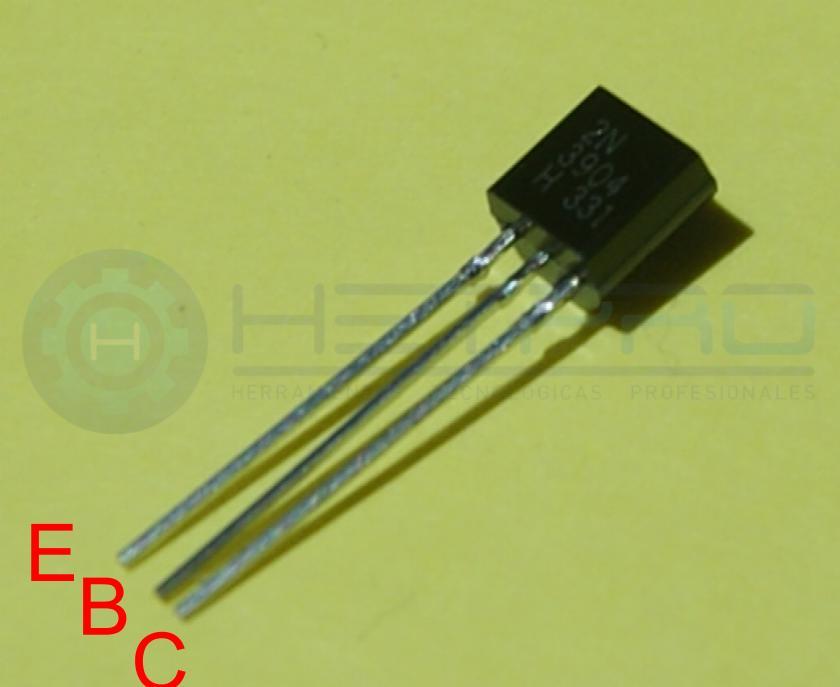 Pines del transistor 2N3904
