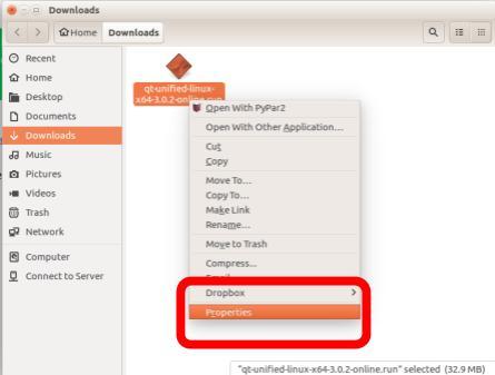 Instalar QT en Linux Ubuntu 16.04