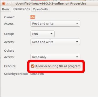 Instalar QT en Linux Ubuntu 16.04 paso 3a