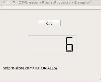 QT Creator Crear un proyecto nuevo - Ejemplo1