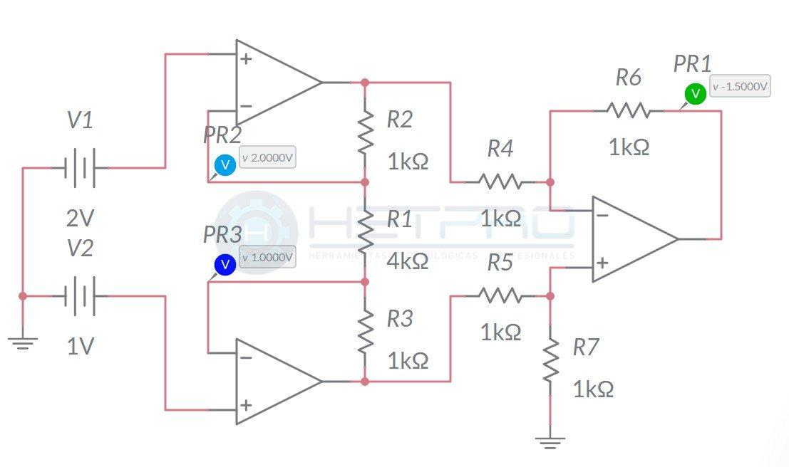 Amplificador de instrumentacion