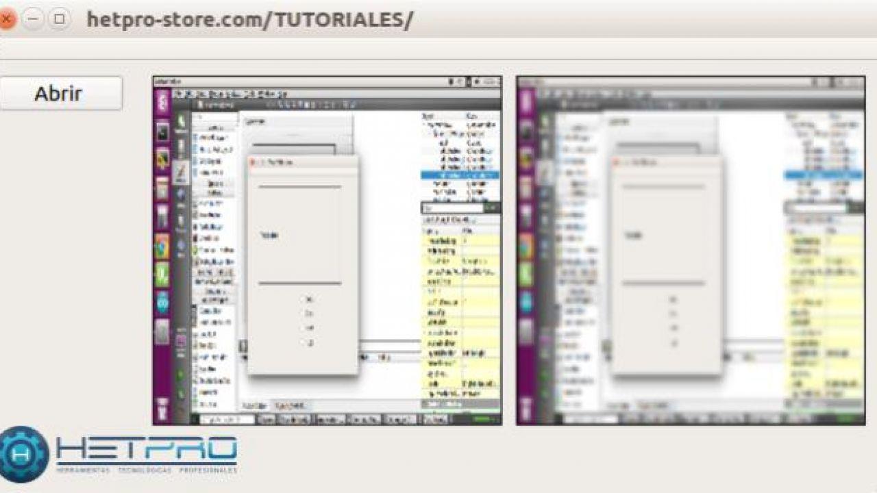 OpenCV GaussianBlur - Filtro de desenfoque y ejemplo en QT