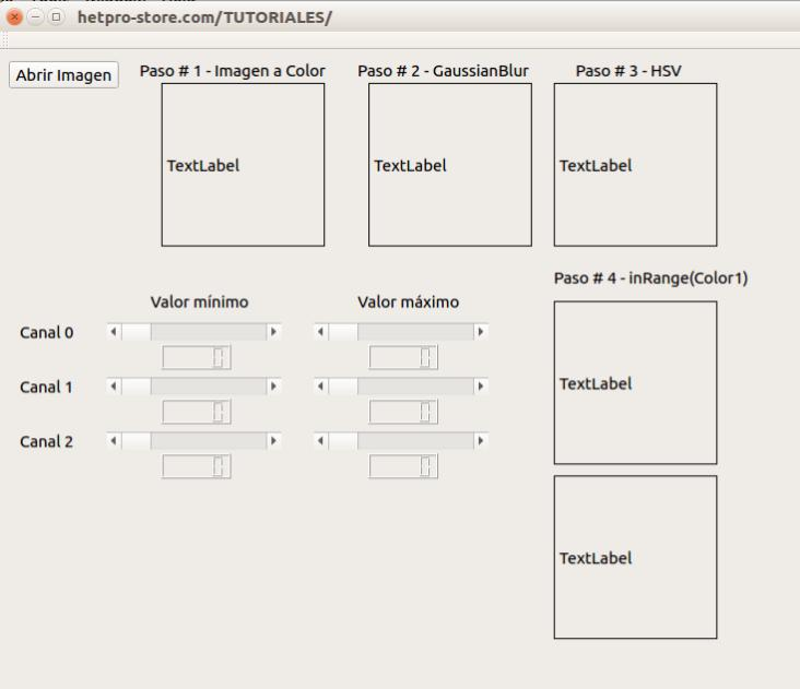 Función de OpenCV findContours