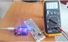 Potenciómetro con Arduino UNO