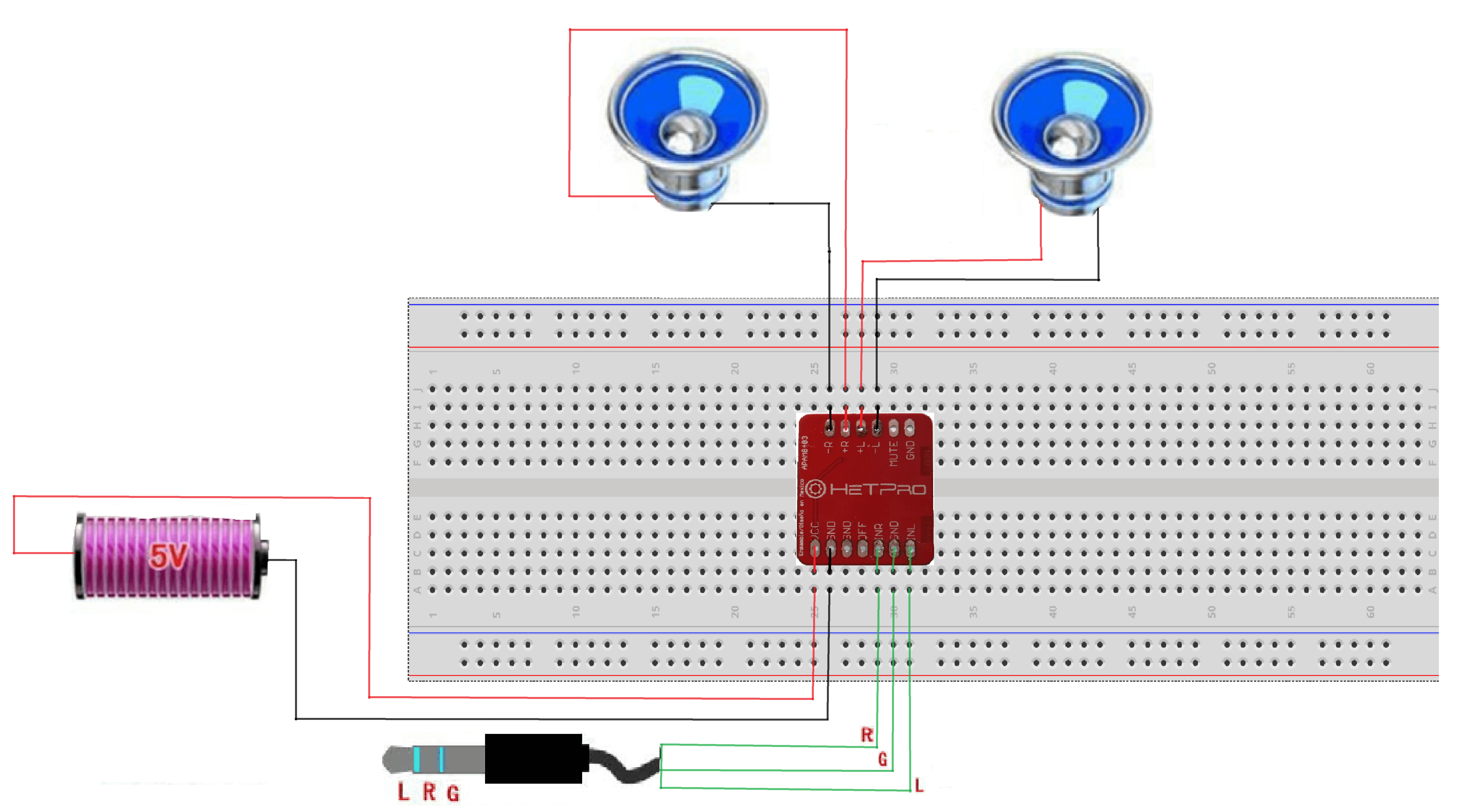 Fig. 2 Diagrama de conexiones