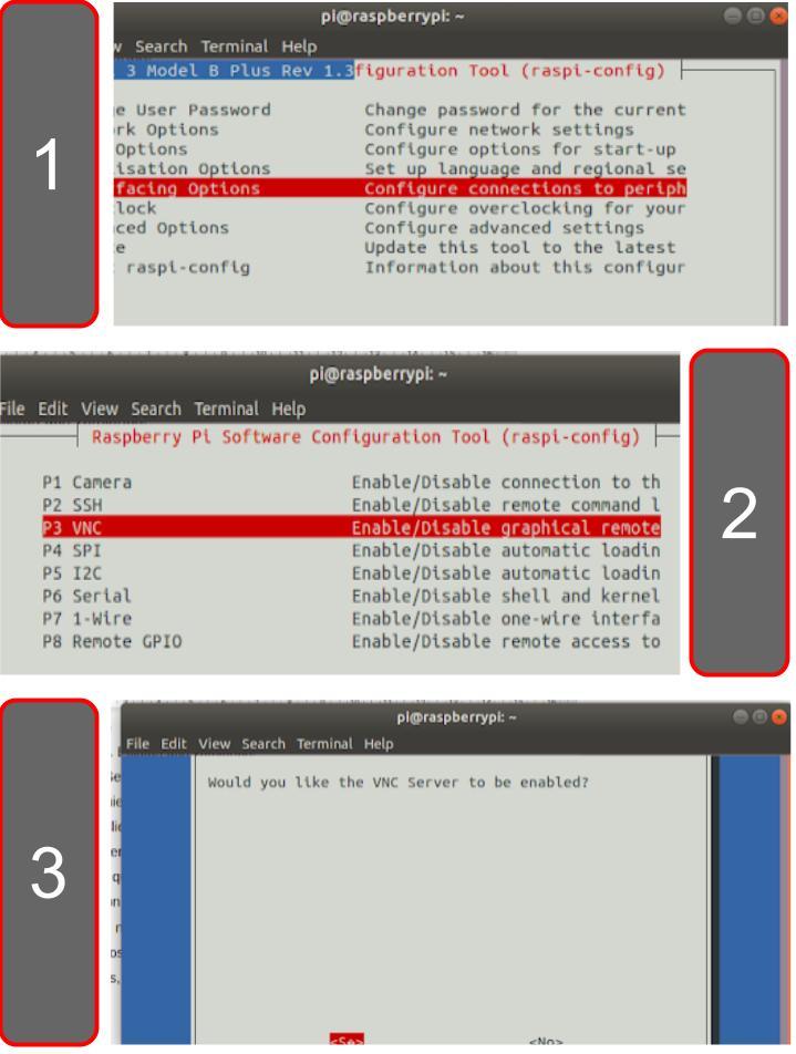 Activar e Instalar VNC Server en Raspberry PI