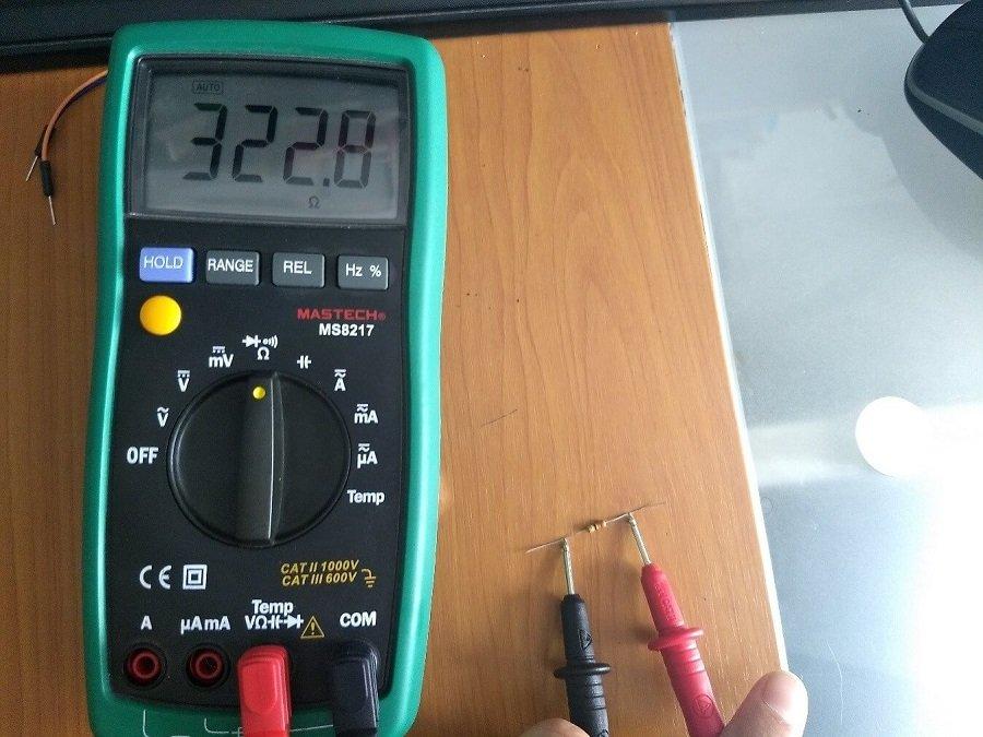 Medición de un resistor