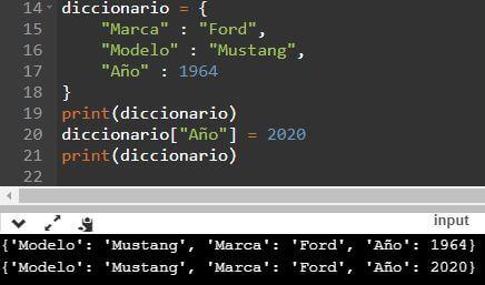 Diccionario en Python