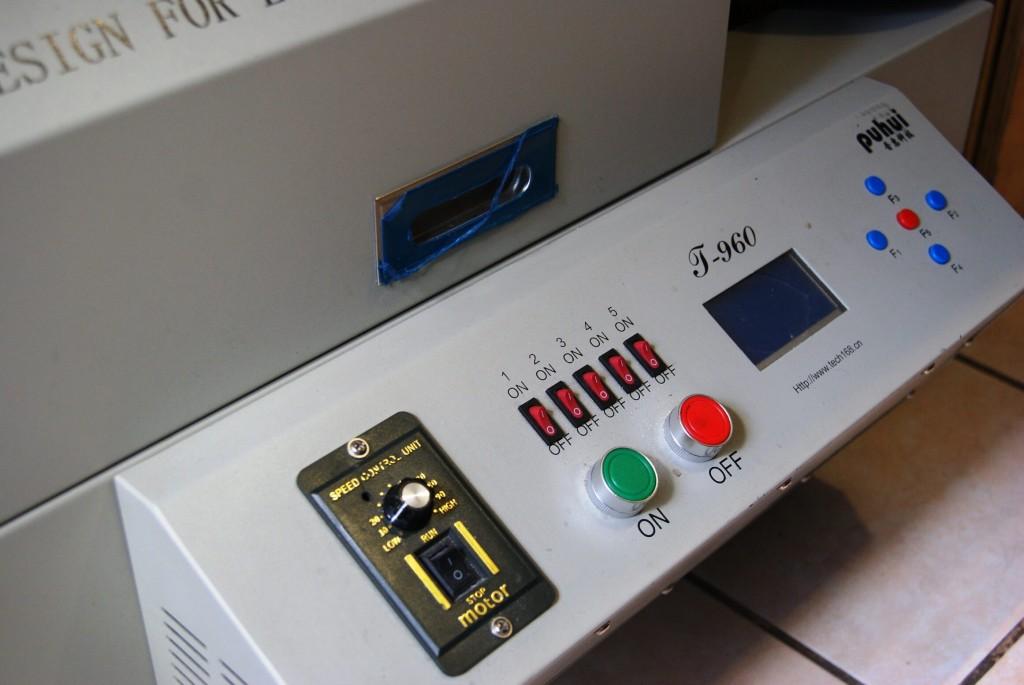 Ensamble de PCB horno de reflujo