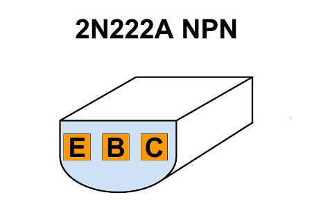 2N222A pinout Fairchild