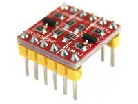 BSS138 convertidor lógico para el sensor ADXL345