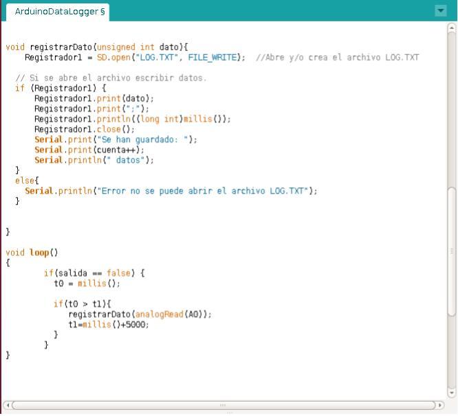 Codigo para leer una memoria micro-SD con Arduino Imagen-1