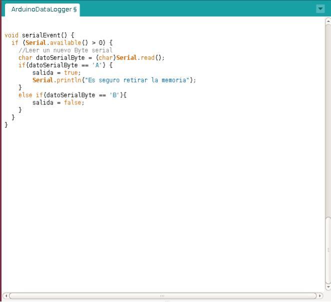 Codigo para escribir una memoria micro-SD con Arduino