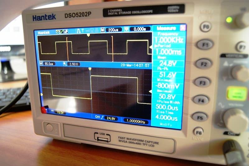Hantek DSO5072P 70Mhz 2 canales