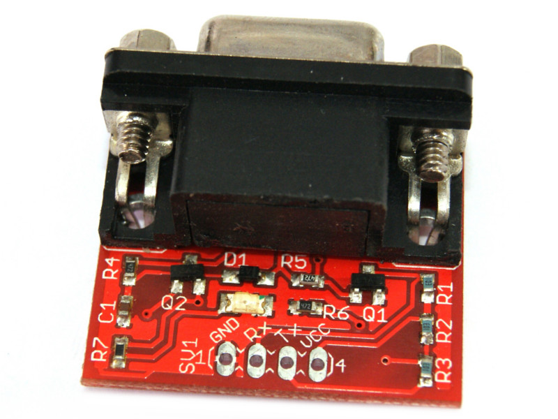 Convertidor RS232 a TTL