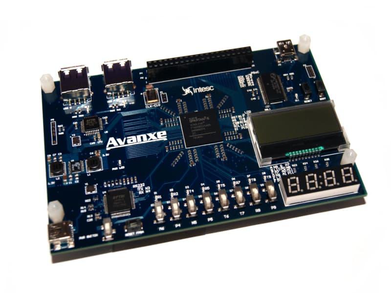 Tarjeta de desarrollo AVANXE FPGA Spartan6