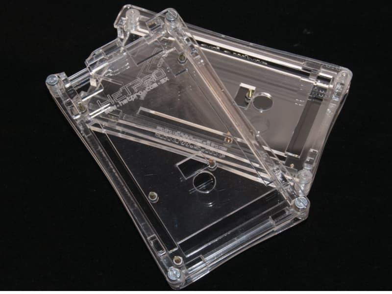 Caja para Arduino Mega HeTPro con laterales
