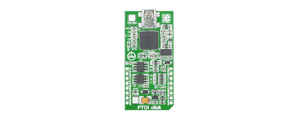FTDI USB a UART/I2C/SPI