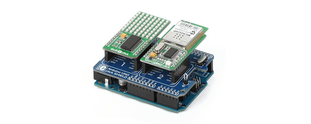 Shield de expansión Arduino uno