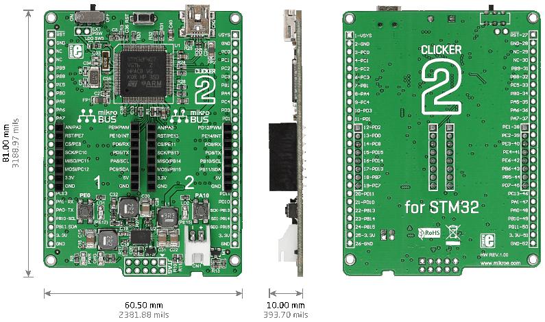 Clicker V2 para STM32