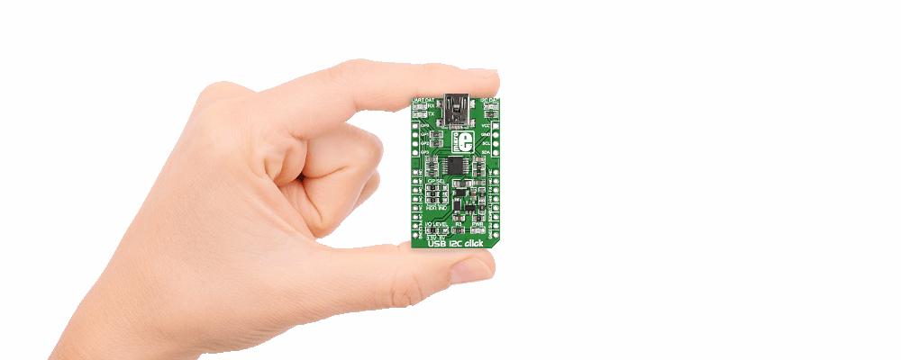 Convertidor de USB a I2C/UART MCP2221
