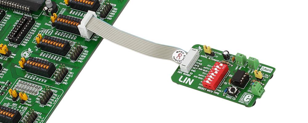 Convertidor UART a LIN MCP201