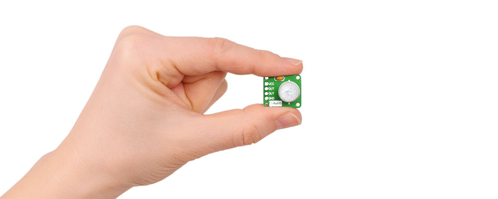 Sensor infrarojo de movimiento