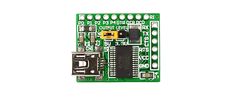 Convertidor USB a UART