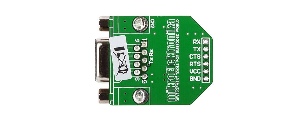 Convertidor UART a RS232 MAX3232